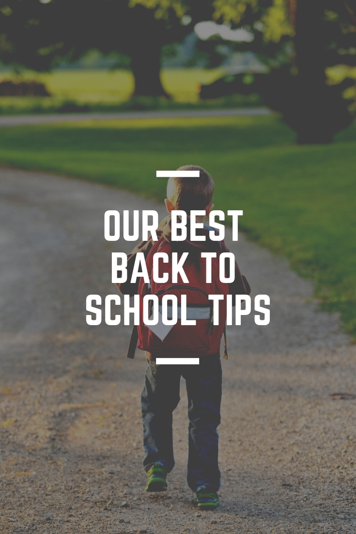 our best back to school tips
