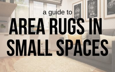 A Guide to Area Rugs in Small Spaces