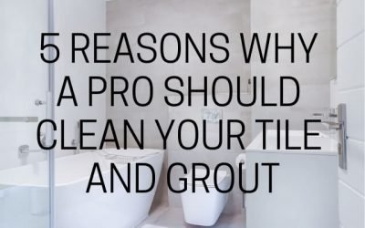 5 Reasons Why A Pro Should Clean Your Tile And Grout