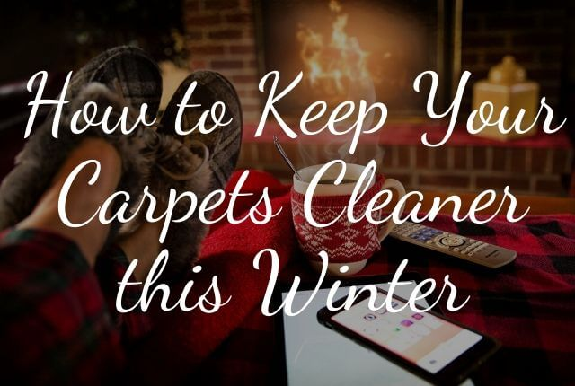 How to Keep Your Carpets Cleaner this Winter