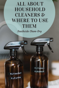 All About Household Cleaners and Where to Use them