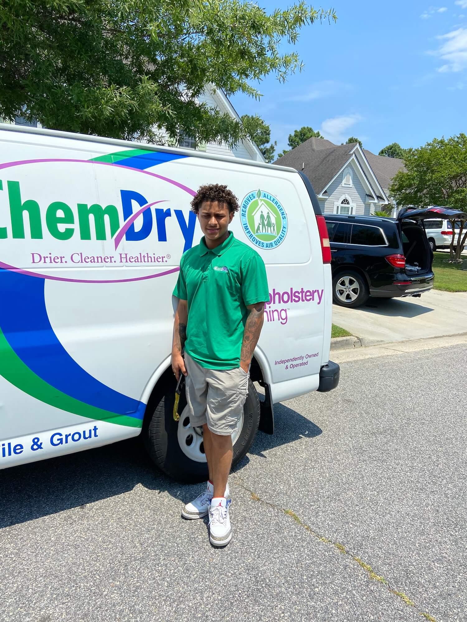 Ramon, Southside Chem-Dry technician