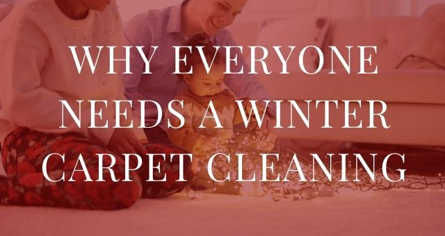 Why Everyone Needs a Winter Carpet Cleaning