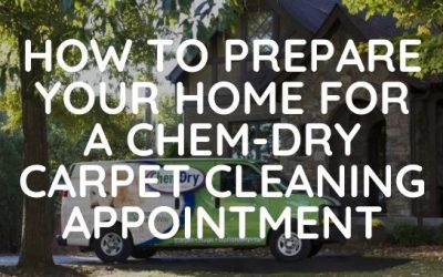 How to Prepare Your Home for a Chem-Dry Carpet Cleaning Appointment